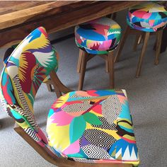 For those of you that asked to see pictures of my dining chairs here they are... they aren't currently available to order online but can be bespoke ordered in store or via email.