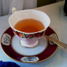 Tea with my mom