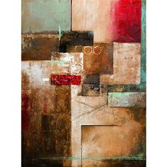 Yosemite Home Decor YA100075B Unveiled The Contemporary Collection Connecting Pieces Acrylic Painting Canvas Art - ATG Stores