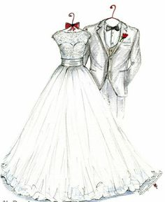67 Ideas wedding day cards to groom the bride for 2019 Wedding Dress Illustrations, Wedding Dress Sketches, Dress Design Sketches, Wedding Illustration, Fashion Design Drawings, Illustration Mode, Fashion Sketches, Wedding Dresses, Wedding Day Cards