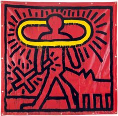 Untitled, 1982 Vinyl Ink on Vinyl 84 x 84 inches 213.3 x 213.3 cm