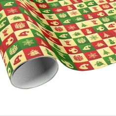 New Year pattern. Wrapping Paper - merry christmas diy xmas present gift idea family holidays Family Holiday, Family Gifts, Kids Gifts, Happy New Year Design, Paper News, Xmas Presents, Present Gift, Christmas Diy, Craft Supplies