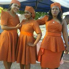 Glamorous Shweshwe Dresses 2019 ⋆ By Diyanu African Wedding Attire, African Attire, African Wear, African Women, African Style, African Print Dresses, African Print Fashion, African Fashion Dresses, African Dress
