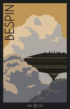 Travel posters from a galaxy far, far away... by Todd Anderson
