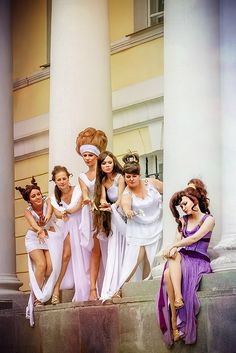 Megara & The Muses - Hercules, Usagi Lunnaya Cosplay