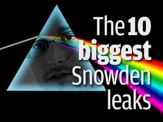 One year ago, on June The Washington Post published the first of Edward Snowden's leaks. Since then, many more revelations have come to light. Here are a look at 10 of the biggest. Edward Snowden Leaks, Technology Articles, One Year Ago, The Washington Post, June, Big, Tecnologia