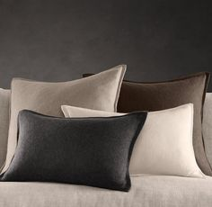 And cashmere pillows....nice!