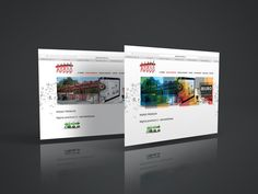graphic elements of the website by Kris