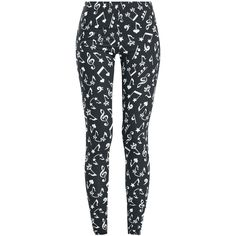 At The Top Of My Voice - Leggings by Full Volume by EMP