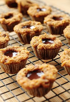 Grain-free Chocolate Coconut Mini-Muffins