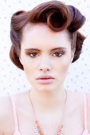 old hollywood glamour hair - Google Search