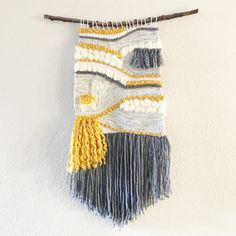 Weaving, woven wall hanging, woven tapestry, llama