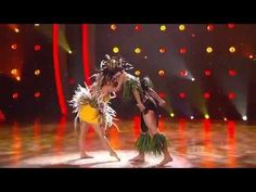 Jungle (Tahitian Dance) - Lauren and Mark (All Star)