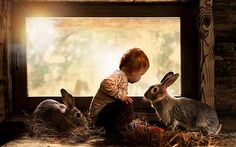 Check out the stunning photography of Elena Shumilova; her subjects being her toddlers on a Russian farm. Only on Babble!