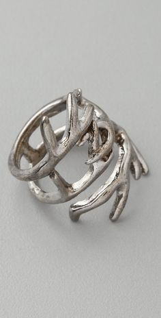 antler ring-perfect for the mountain life!