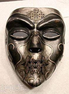 DIY Halloween Mask - EPBOT: Curse of the Death Eater?: