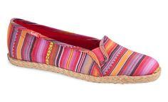 LOVE these!!  Keds Jute Blanket Stripe Mini