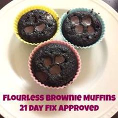 21 day fix recipe- brownie muffins!