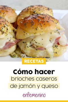 How to make homemade brioches step by step, - nutella - Recetas Nutella, Mi Recipe, Homemade Brioche, Empanadas, Tapas, Cooking Recipes, Healthy Recipes, How To Make Homemade, Holiday Desserts