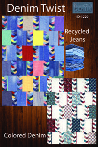New pattern from Inventive Denim-use your recycled jeans!!