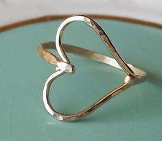 heart ring by krystal