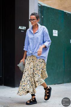New York SS 2017 Street Style: Lucy Chadwick