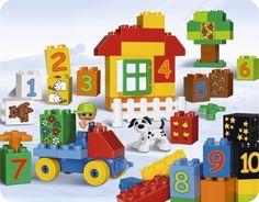 LEGO® DUPLO® play with numbers (Chơi với những con số) | LEGO | Đồ chơi lắp ráp LEGO | 123.vn