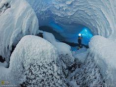 南極の活火山 エレバス