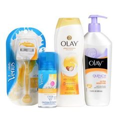 Gillette Venus with Olay Ultra Moisture Female Shave Set
