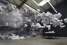 Cloudy House by Tomas Saranceno
