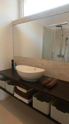 Linear 324 - Kolekcie | Modrastrecha.sk Brick House Designs, Flat Roof House, Double Vanity, Double Sink Vanity