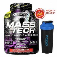 Muscletech Masstech, Strawberry 7.05 Lb