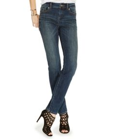 Inc International Concepts INCEssentials Curvy-Fit Skinny Jeans, Created for Macy's -
