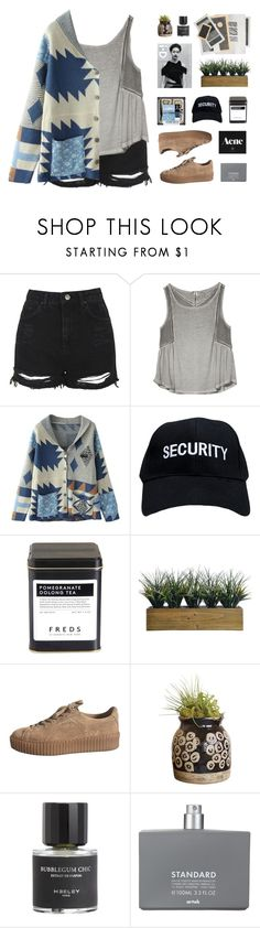 """ Theory of a Deadman "" by centurythe ❤ liked on Polyvore featuring Topshop, Gentle Fawn Clothing, FREDS at Barneys New York, Laura Ashley, Dot & Bo, Heeley Parfums and Comme des Garçons"