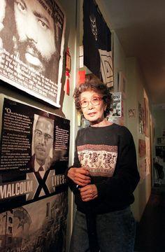 New York Times: June 2014 - Obituary: Civil rights activist Yuri Kochiyama, unlikely ally to Malcolm X, dies at 93 Japanese American, Asian American, African American History, British History, American Women, Native American, Civil Rights Leaders, Civil Rights Activists, Yuri Kochiyama