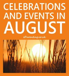 Events, celebrations, saints days, annual campaigns and anything else that is happening in August 2020 in the UK and internationally. August Calendar, Holiday Calendar, Event Calendar, Special Days In August, August Events, Time Management Techniques, Celebration Day, Outdoor Games For Kids, Summer Fun