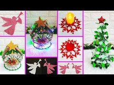 4 Economical Christmas Craft idea  DIY Low budget Christmas craft idea - YouTube Christmas On A Budget, Christmas Crafts, Arts And Crafts, Diy Crafts, Budgeting, Halloween, Bag, Youtube, Xmas
