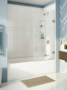 4 Astute Tips: Small Shower Remodeling Wet Rooms walk in shower remodeling vanities.Tub To Shower Remodel How To Remove walk in shower remodeling vanities.Walk In Shower Remodel Before And After. Small Shower Remodel, Bathtub Remodel, Pittsburgh, Bathroom Tub Shower, Fiberglass Shower, Relax, Small Showers, Large Shower, Bathroom Renovations