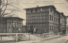 Thorn, Westpreußen: Schießplatz, Kasernement und Kantine