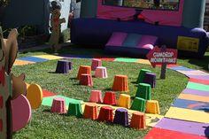 Candyland backyard