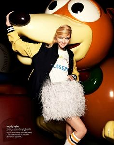 Heather Marks by David Burton for Elle France | Fashion Gone Rogue: The Latest in Editorials and Campaigns