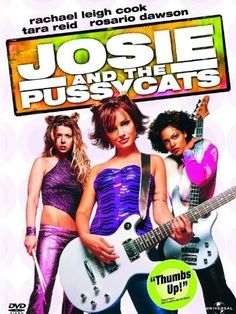 Josie and the Pussycats DVD 2001 TARA REID Rachael Leigh Cook ROSARIO DAWSON