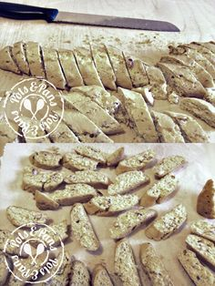 Cantucci -  Dry almond biscuits typical of Tuscany. (By me)