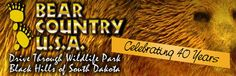 Rapid CIty, SD ~~ Bear Country USA Drive Through Wildlife Park (8 miles south of Rapid City on Hwy 16)