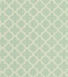Upholstery Fabric-Waverly Framework Mist