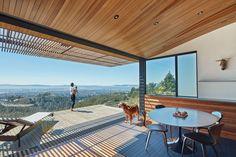 Skyline View of California: Open Concept Patio