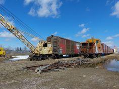 Railway Museum Beiseker Alberta