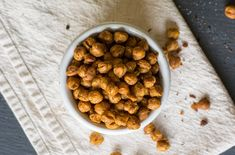 Savory Spiced Roasted Chickpeas | Lemons and Basil