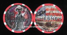 $5 Kenny Chesney 4th of July 2015 Hard Rock