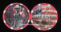 $5 Kenny Chesney 4th of July 2015 Hard Rock
